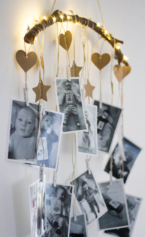 DIY Foto Lichterkette