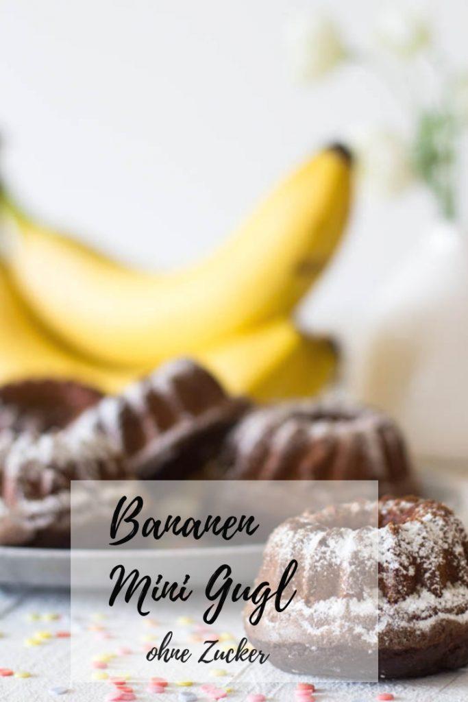 gesunde Bananen Mini Gugl