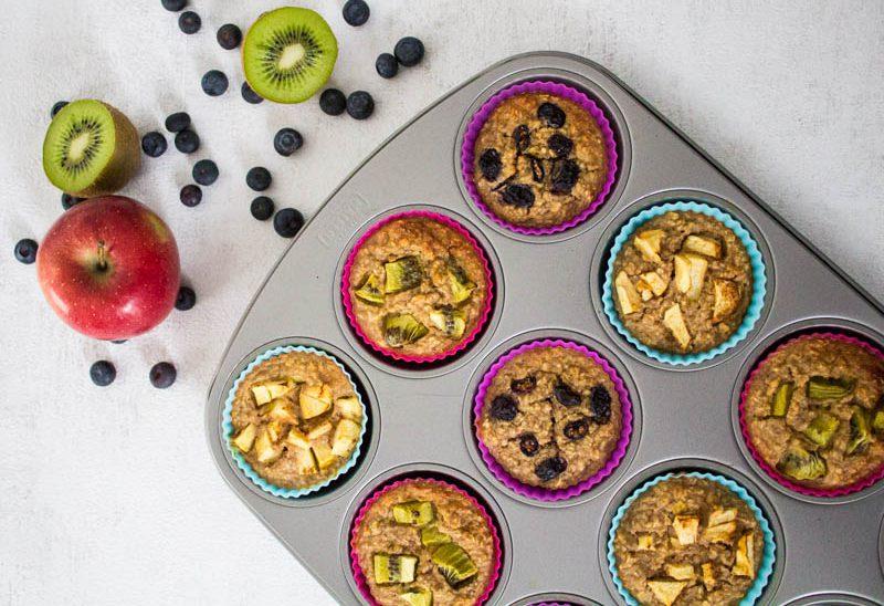 Muffins zum Frühstück: süß & herzhaft